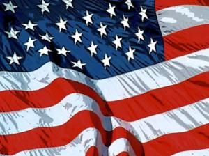 Le drapeau des Etats-Unis d'Amérique. witchofthecity.com
