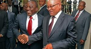 sudafrique et rdc