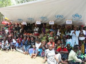 Des regugiés pris en charge par le HCR au Sud-Kivu.