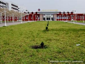 Hôpital du cinquantenaire à Kinshasa. Radio Okapi/ Ph. John Bompengo