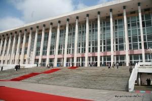 Palais du peuple, le parlement à Kinshasa, 2007.