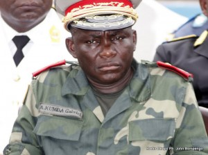 Le général Amisi Kumba Gabriel( Tango fort). Radio Okapi/ Ph. John Bompengo