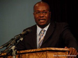 Delly Sessanga. Radio Okapi/ Ph. John Bompengo