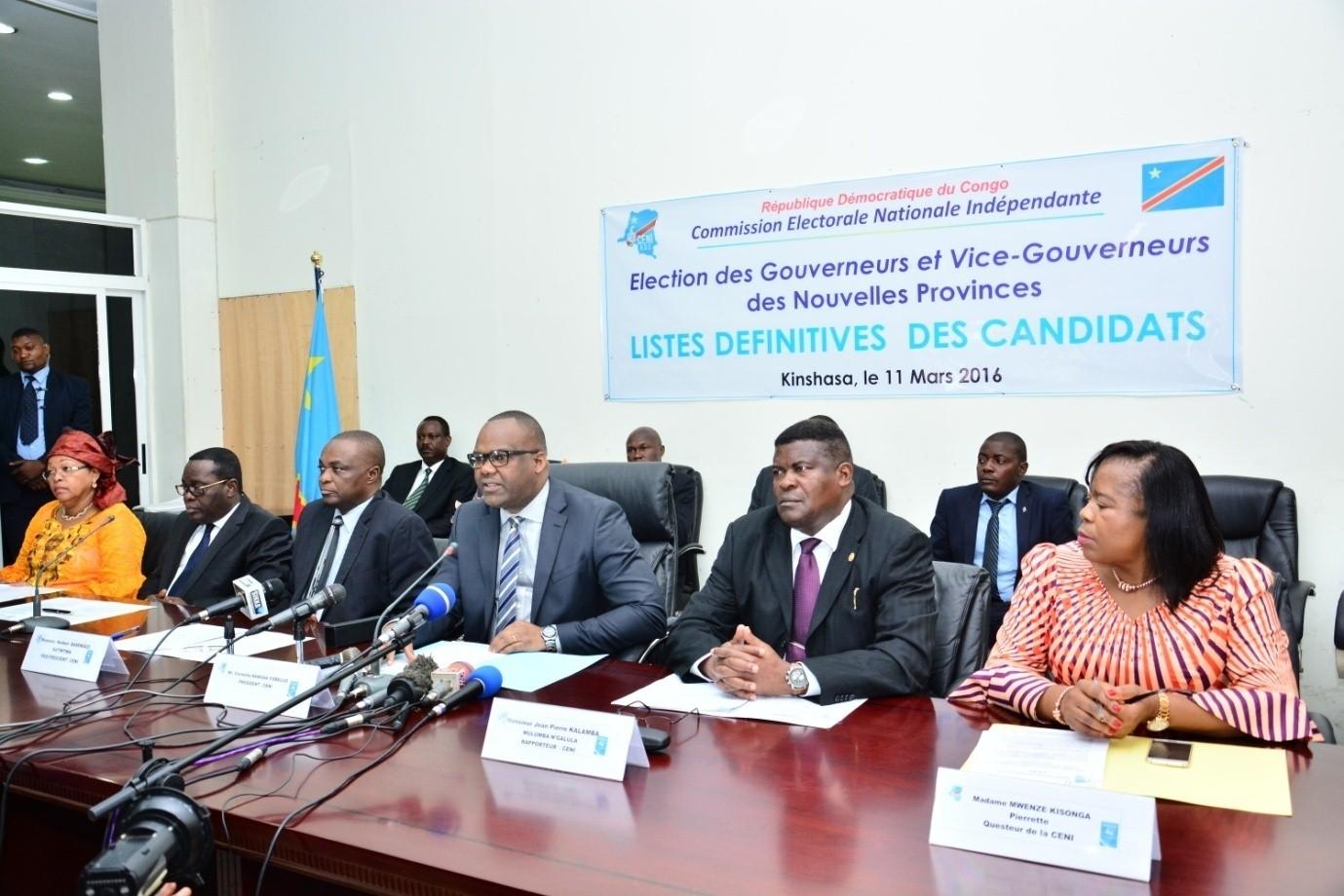 """Résultat de recherche d'images pour """"RD Congo, CENI, Elections, RD congo, 2017, 2018"""""""