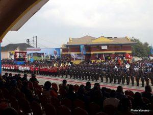 Célébration du 56ème anniversaire de l'indépendance de la RDC à Kindu (Maniema). 30 juin 216. Photo MONUSCO